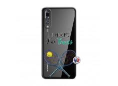 Coque Huawei P20 PRO Je Peux Pas J Ai Tennis