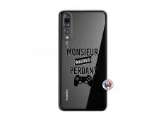 Coque Huawei P20 PRO Monsieur Mauvais Perdant