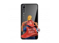 Coque Huawei P20 PRO Super Papa et Super Bébé