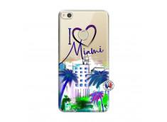 Coque Huawei P8 Lite 2017 I Love Miami