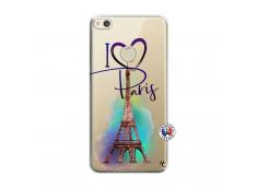 Coque Huawei P8 Lite 2017 I Love Paris