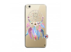 Coque Huawei P8 Lite 2017 Multicolor Watercolor Floral Dreamcatcher