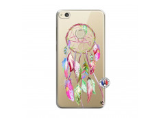 Coque Huawei P8 Lite 2017 Pink Painted Dreamcatcher