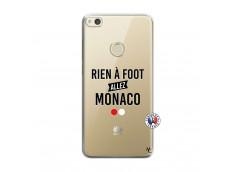 Coque Huawei P8 Lite 2017 Rien A Foot Allez Monaco