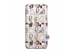 Coque Huawei P9 Lite Cat Pattern