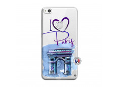 Coque Huawei P9 Lite I Love Paris Arc Triomphe
