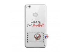 Coque Huawei P9 Lite Je peux pas j'ai Handball