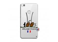 Coque Huawei P9 Lite 100 % Rugbyman Entre les Poteaux