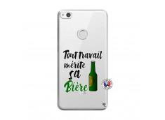 Coque Huawei P9 Lite Tout Travail Merite Sa Biere