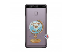 Coque Huawei P9 Globe Trotter