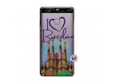 Coque Huawei P9 I Love Barcelona