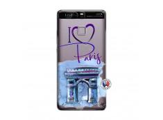 Coque Huawei P9 I Love Paris Arc Triomphe