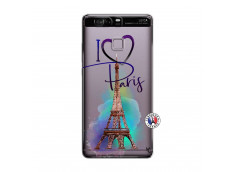 Coque Huawei P9 I Love Paris