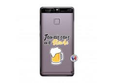 Coque Huawei P9 Jamais Sans Ma Blonde