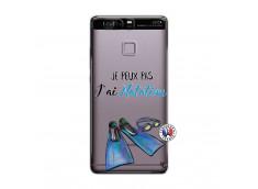 Coque Huawei P9 Je Peux Pas J Ai Natation
