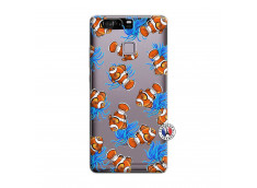 Coque Huawei P9 Poisson Clown