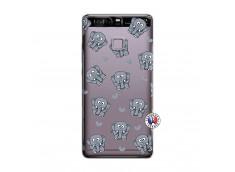 Coque Huawei P9 Petits Elephants