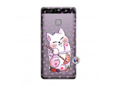 Coque Huawei P9 Smoothie Cat
