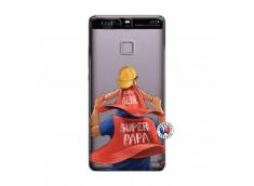 Coque Huawei P9 Super Papa et Super Bébé