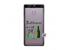 Coque Huawei P9 Tout Travail Merite Sa Biere