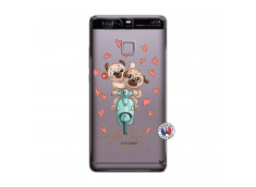 Coque Huawei P9 Puppies Love