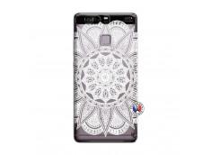 Coque Huawei P9 White Mandala