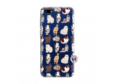 Coque Huawei Y5 2018 Cat Pattern