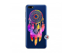Coque Huawei Y5 2018 Dreamcatcher Rainbow Feathers