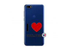Coque Huawei Y5 2018 I Love Toulouse