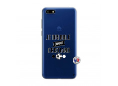 Coque Huawei Y5 2018 Je Dribble Comme Cristiano
