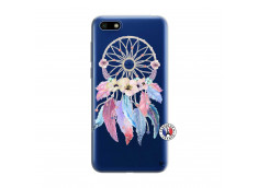 Coque Huawei Y5 2018 Multicolor Watercolor Floral Dreamcatcher