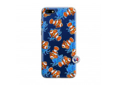 Coque Huawei Y5 2018 Poisson Clown