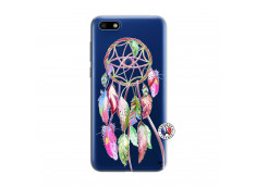 Coque Huawei Y5 2018 Pink Painted Dreamcatcher
