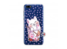 Coque Huawei Y5 2018 Smoothie Cat