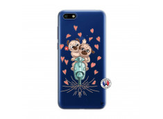 Coque Huawei Y5 2018 Puppies Love