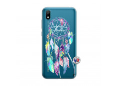 Coque Huawei Y5 2019 Blue Painted Dreamcatcher