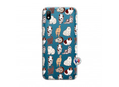 Coque Huawei Y5 2019 Cat Pattern