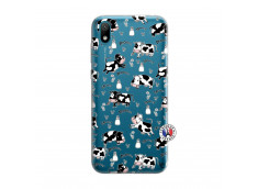 Coque Huawei Y5 2019 Cow Pattern