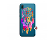 Coque Huawei Y5 2019 Dreamcatcher Rainbow Feathers