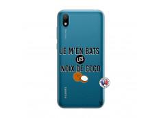 Coque Huawei Y5 2019 Je m'en bats Les Noix De Coco