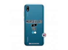 Coque Huawei Y5 2019 Marseillais à Vie