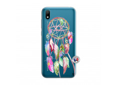 Coque Huawei Y5 2019 Pink Painted Dreamcatcher