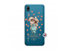 Coque Huawei Y5 2019 Puppies Love