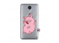 Coque Huawei Y6 2017 Pig Impact