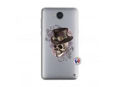 Coque Huawei Y6 2017 Dandy Skull