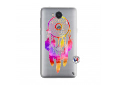Coque Huawei Y6 2017 Dreamcatcher Rainbow Feathers
