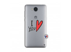 Coque Huawei Y6 2017 I Love You