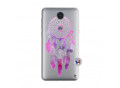 Coque Huawei Y6 2017 Purple Dreamcatcher