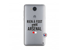Coque Huawei Y6 2017 Rien A Foot Allez Arsenal