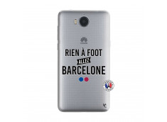 Coque Huawei Y6 2017 Rien A Foot Allez Barcelone